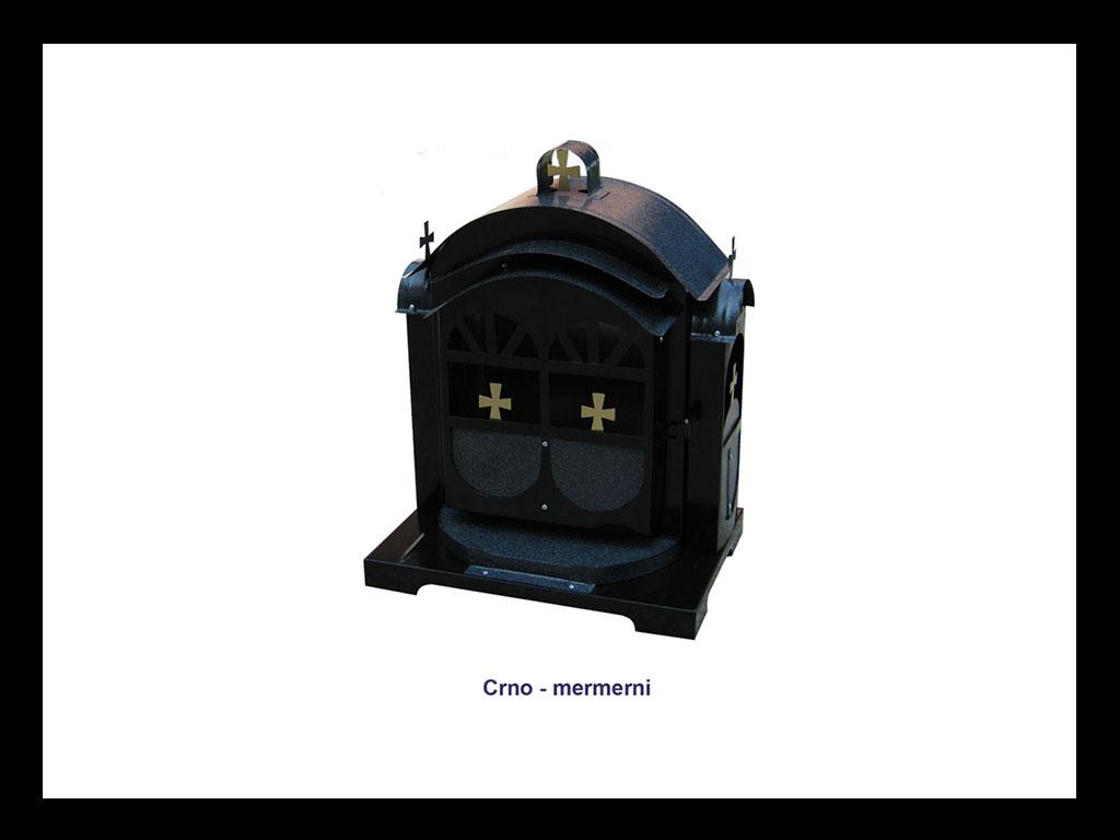 Hram za groblje - Crni mermer