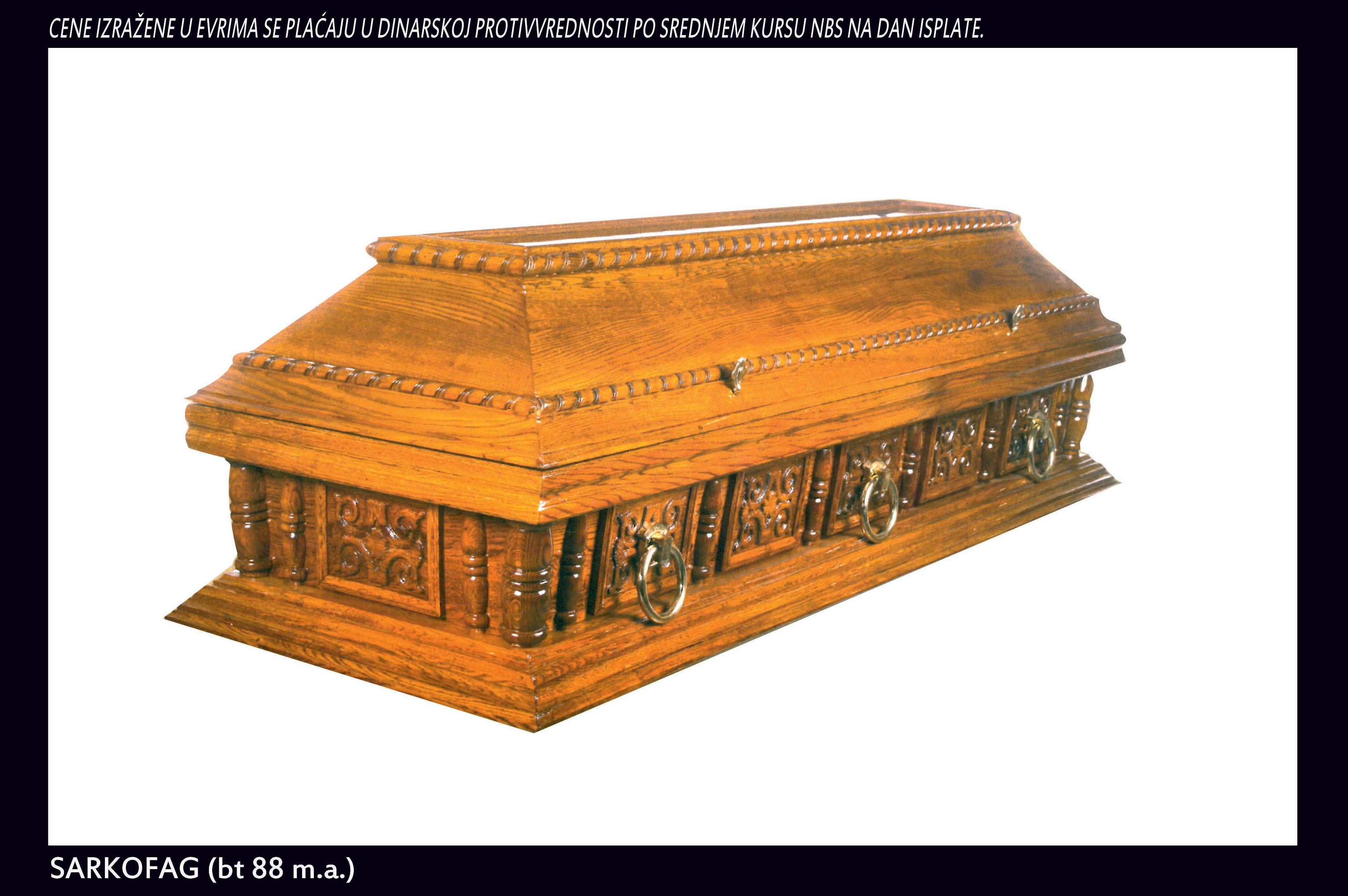 Sarkofag bt(88 m.a.)