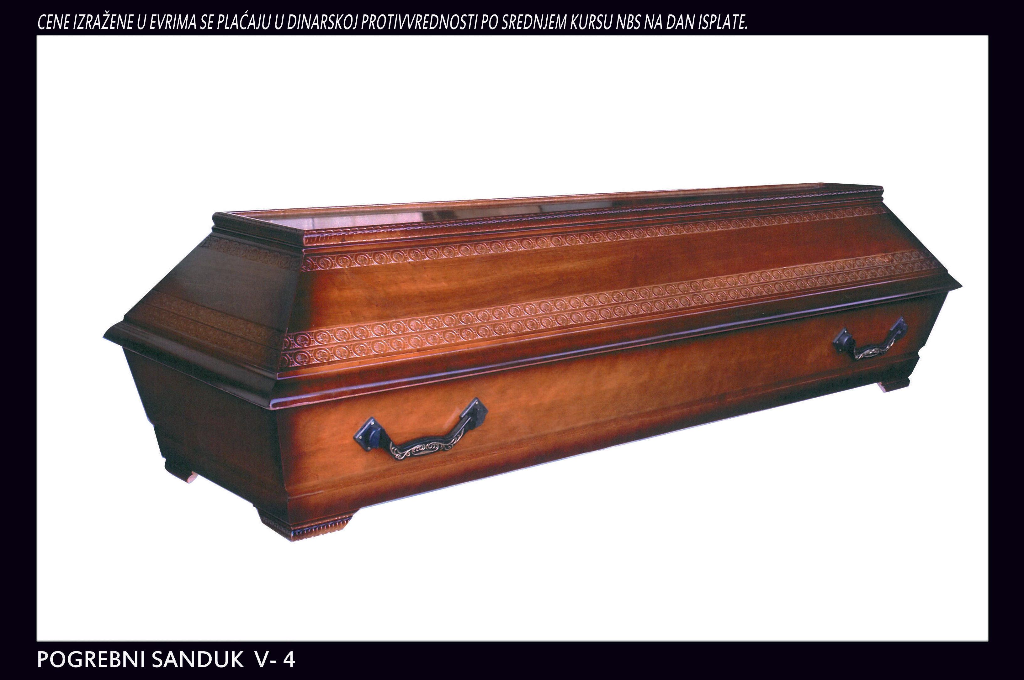 Pogrebni sanduk V-4