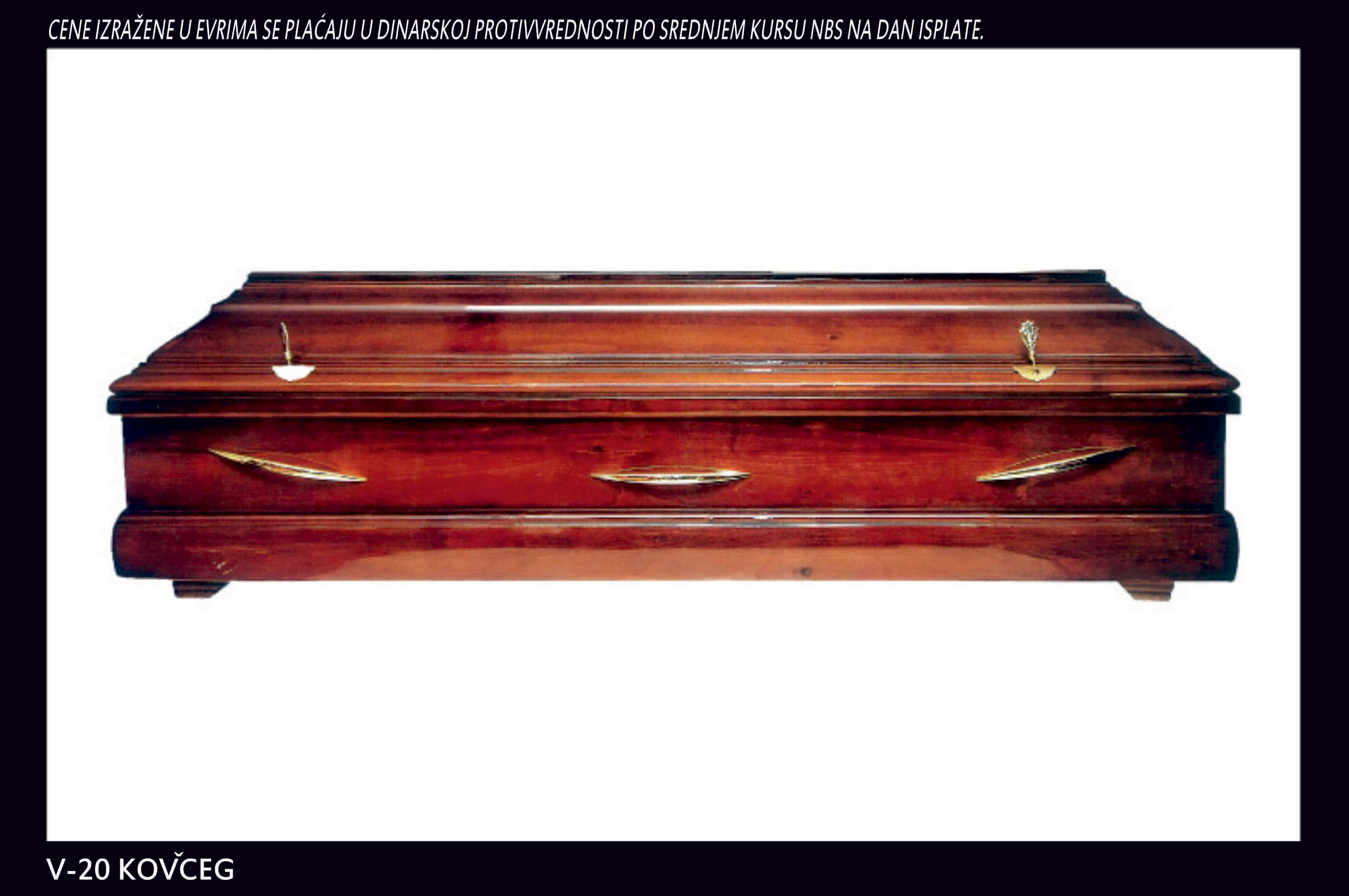 V-20 kovčeg