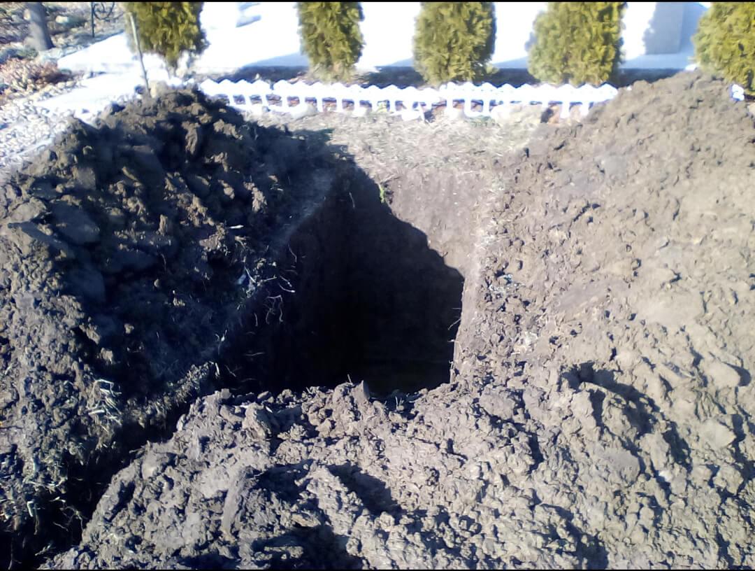 Kopanje grobnih mesta