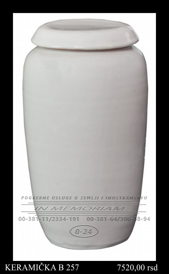 Urna - Keramicka B 257