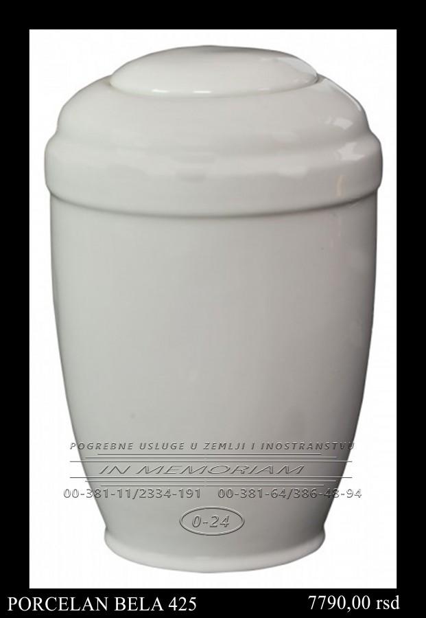 Urna - Porcelan Bela 425