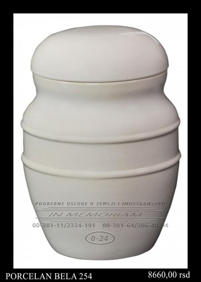 Urna - Porcelan Bela 254