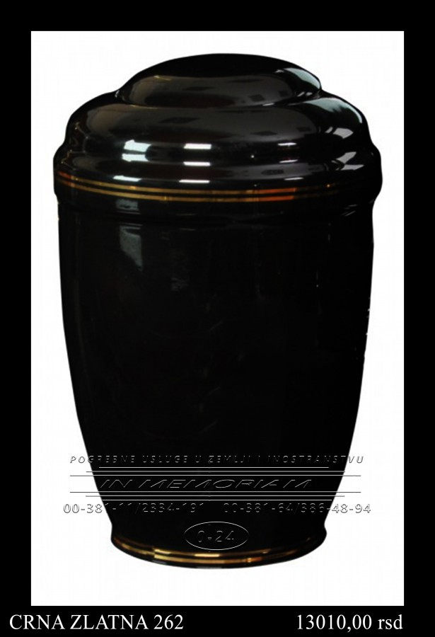 Urna - Crna zlatna 262